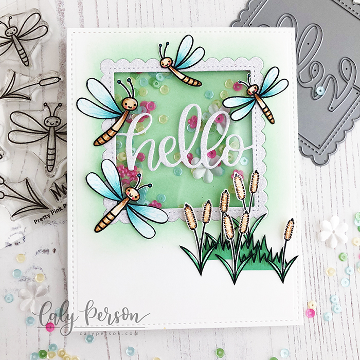 PPP Hello Darling Dragonflies 1