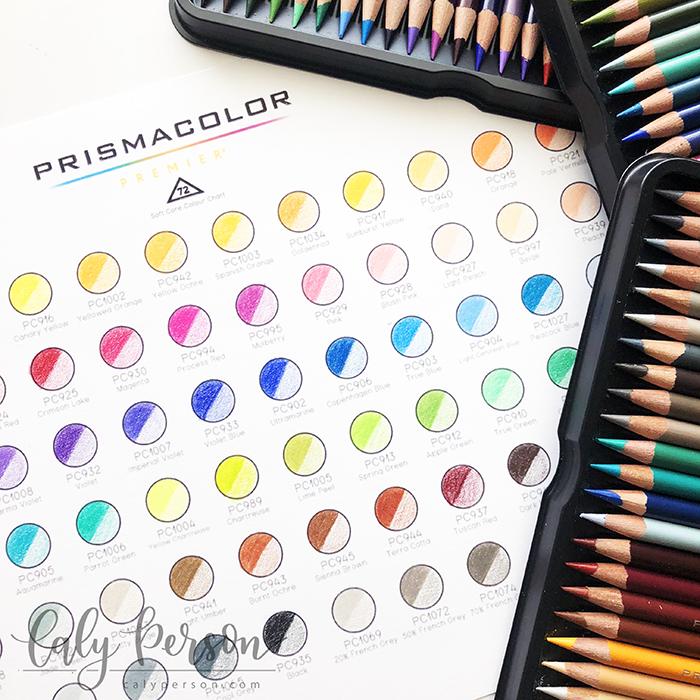 Prismacolor Color Chart Coloring