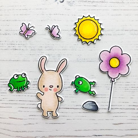 Springtime Coloring