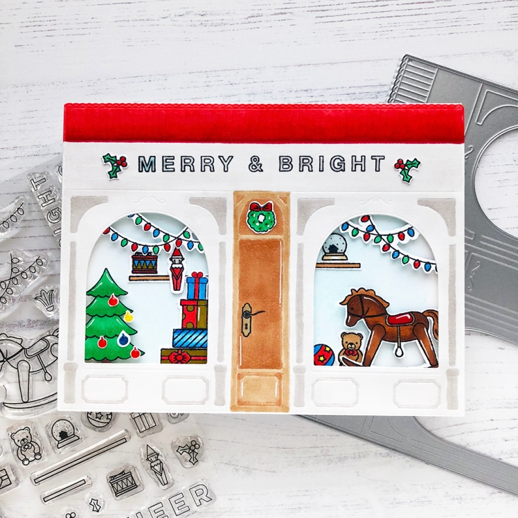 PFS Merry & Bright Toy Shop Square