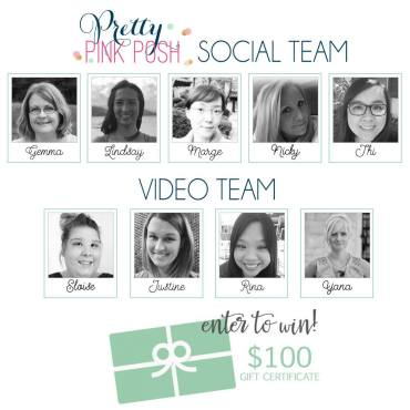 PPP Social and Video Teams