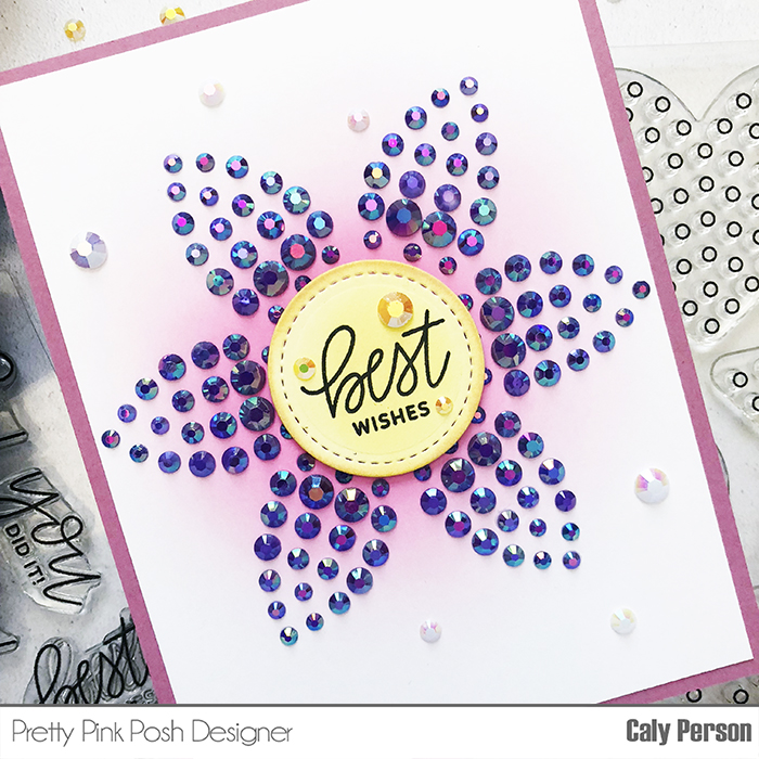 PPP Sparkle Dots Flower 1