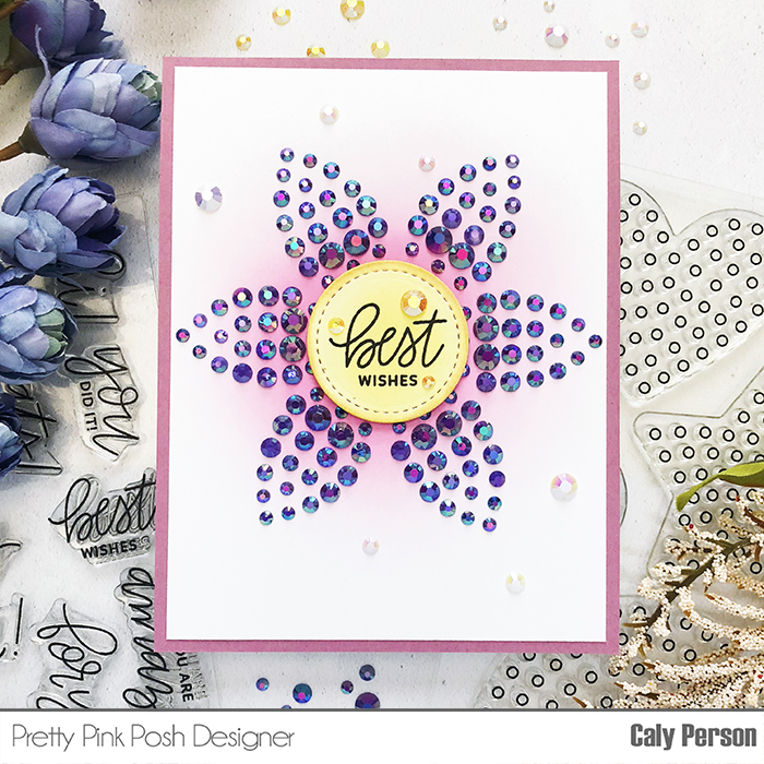 PPP Sparkle Dots Flower