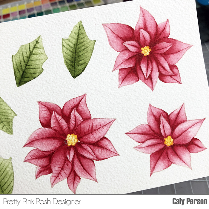 PPP Poinsettia Painting