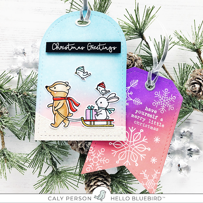 HB Holiday Tags