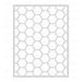 HBS Hexagon Cover Plate Stipple