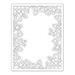 SSS Outline Floral Frame