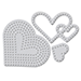 WPlus9 Needle Point Hearts