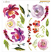 ALT Peonies in Blossom A Decal Set-Small