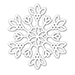 SSS Daphne Snowflake