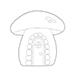 SSS Mushroom House