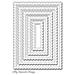 MFT Stitched Mini Scallop Rectangle STAX