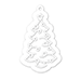 SSS Christmas Tree Tag and Outline
