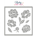 PPP Peonies Stencil