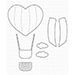 MFT Heart Air Balloon