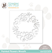 SSS Painted Flowers Wreath