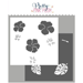PPP Hibiscus Flowers Stencils