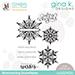 SSS/GKD STAMPtember Shimmering Snowflakes Stamp