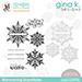 SSS/GKD STAMPtember Shimmering Snowflakes Set